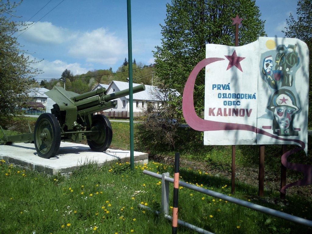 Kalinov- prvá oslobodená obec, Slovensko - Bod záujmu