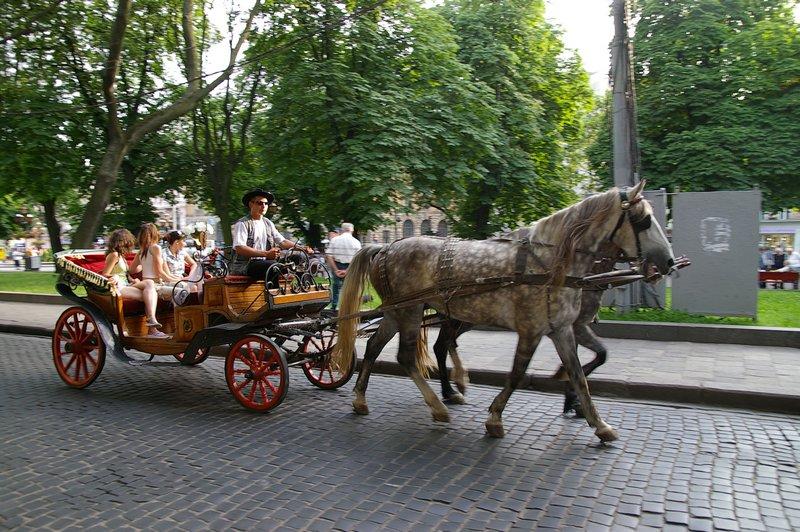Ukrajina - mesto Ľvov