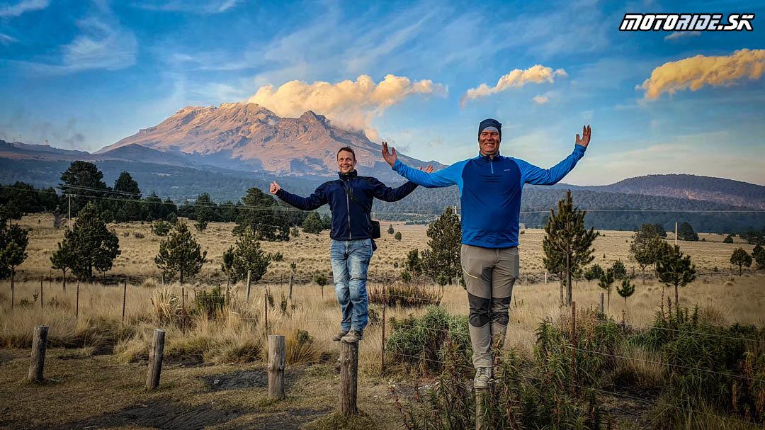 Popocatépetl a cesta do Puebly - Naživo: Mexiko 2020