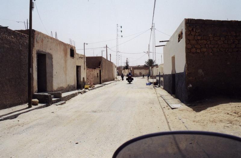 Ulica v Berberskej oáze