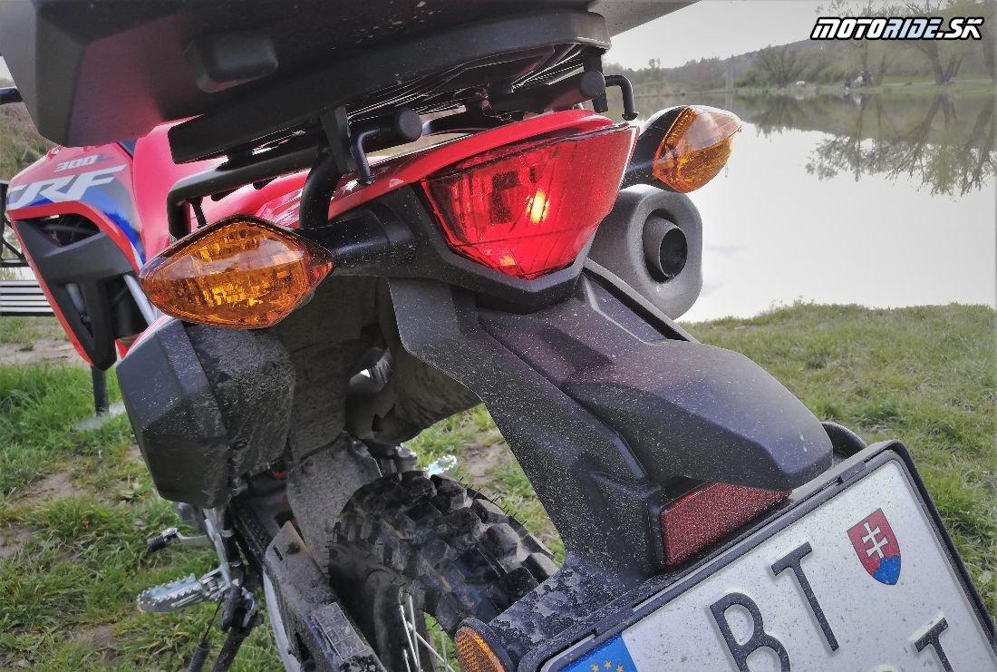 Do voza aj do koča či naprieč Sibírom - Honda CRF300L 2021