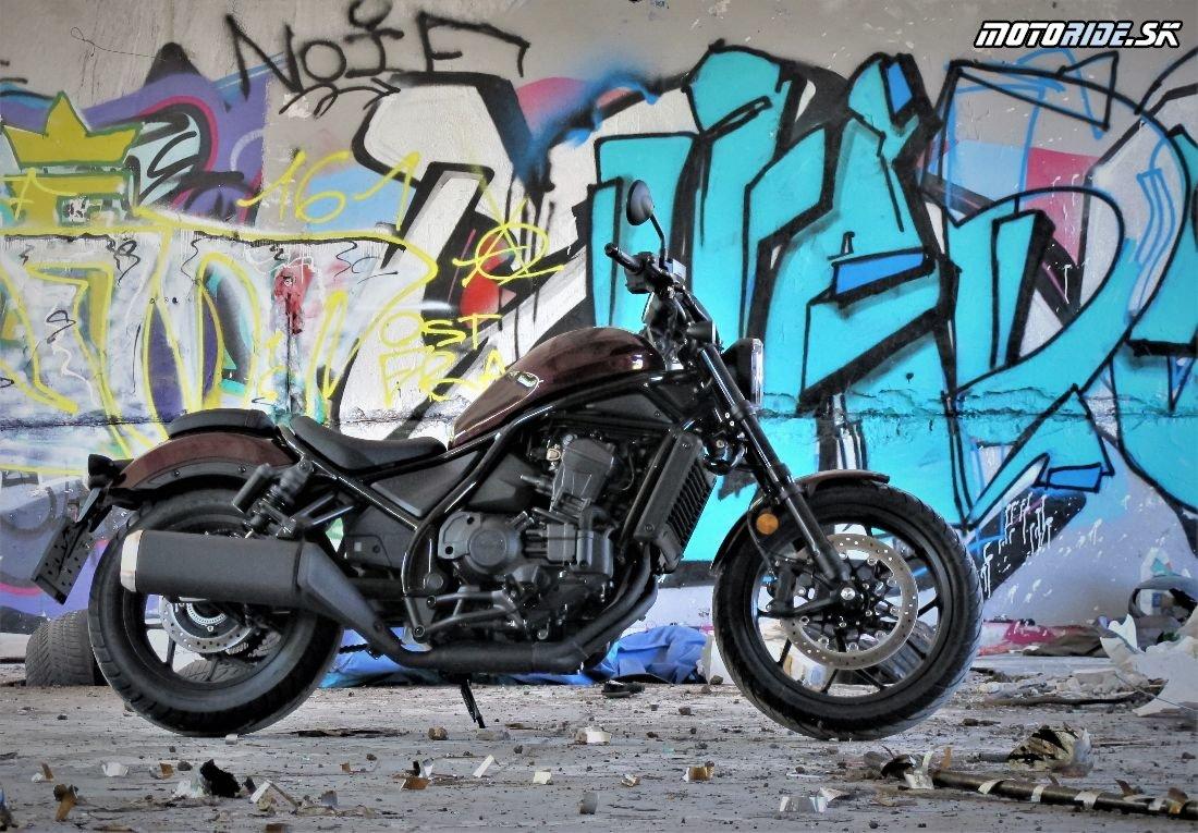 Honda CMX1100 - Rebel ešte rebelskejší