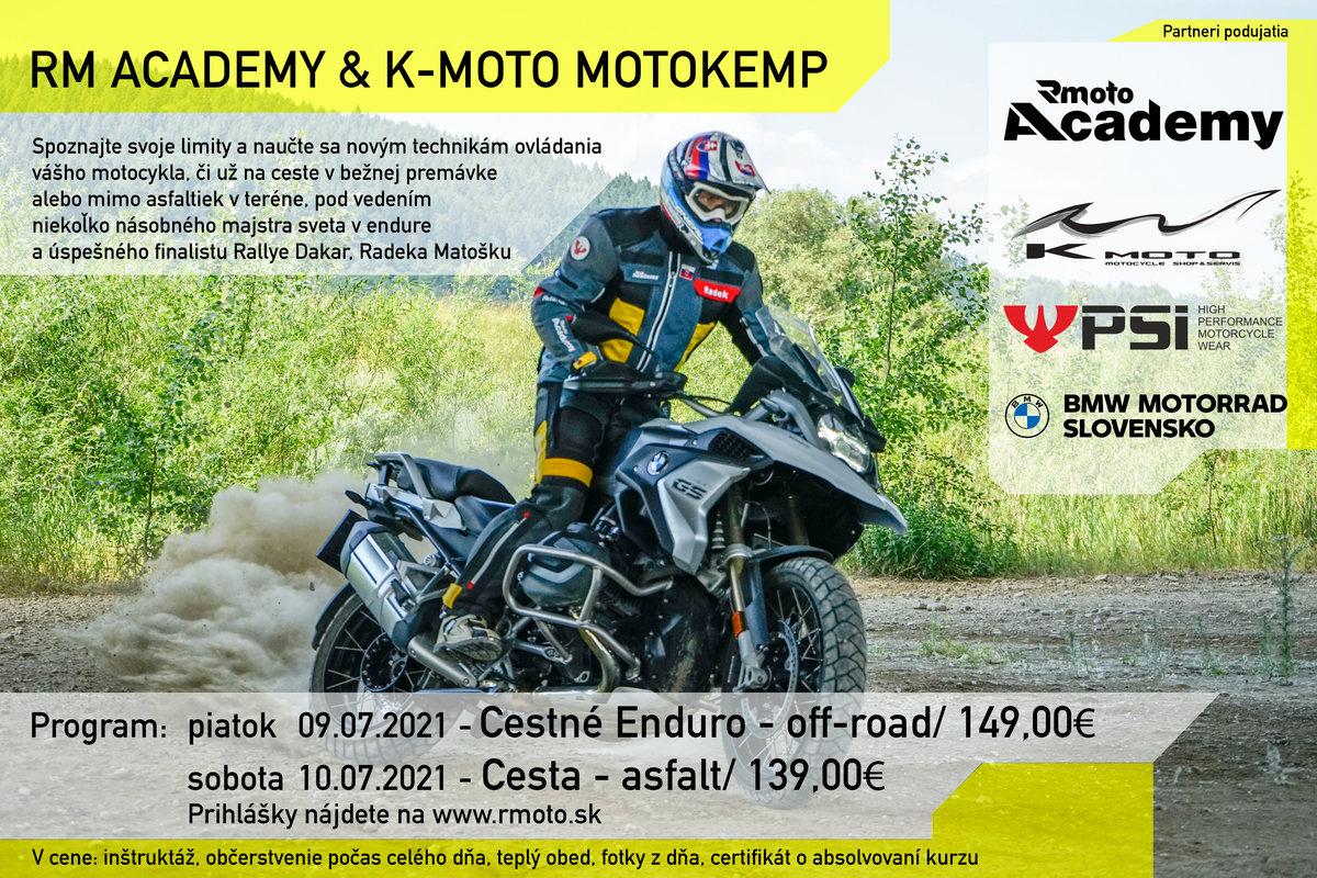 Pozvánka: RM Academy Motokemp 9-10. 7. 2021