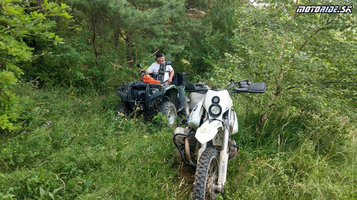 Pár fotiek z piatkovej prípravy trate MER2021 - 7h roboty - Registrácia: Motoride XL Enduro Rally 2021, Tuhrina, Slanské vrchy