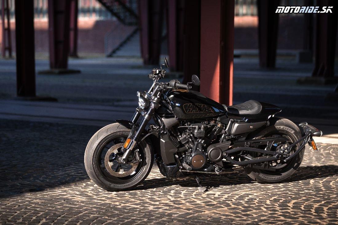 Prvé zvezenie na novom Harley-Davidson Sportster S