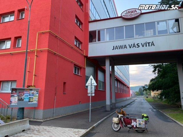 Továreň Jawa - Týnec nad Sázavou