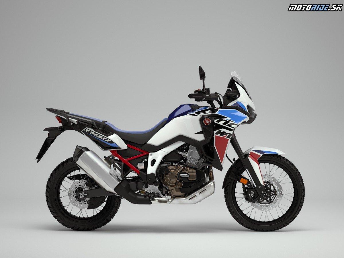 Honda Africa Twin aAfrica Twin Adventure Sport dostanú nový vzhľad aďalšie vylepšenia pre rok 2022