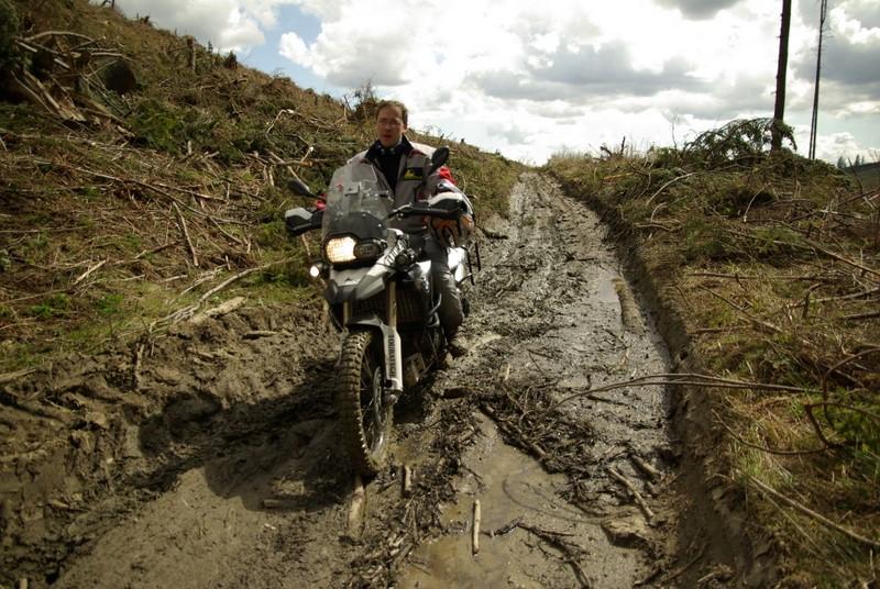 Plánovanie trate Motoride Enduro Challenge 2009