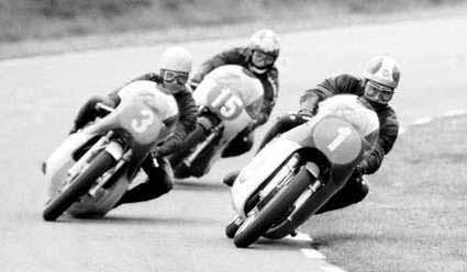 Hockenheim 1969 - Ivy č.3, Agostini č.1