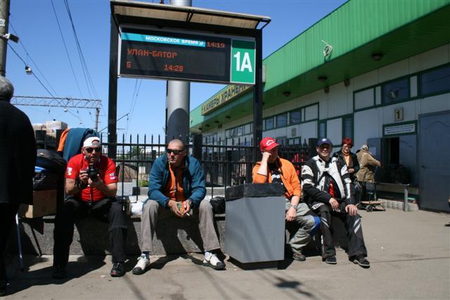 Mongolsko 2009 - foto z Ruska