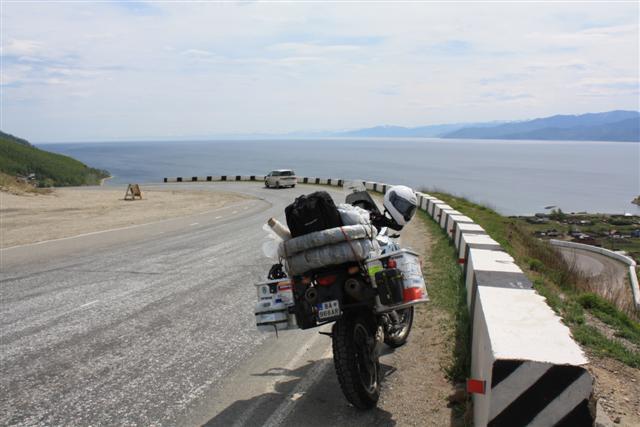 Mongolsko 2009 - Bajkal prvý pohľad