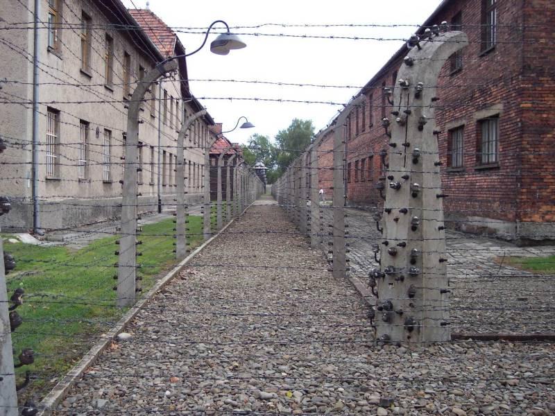 Oplotenie v tábore Auschwitz