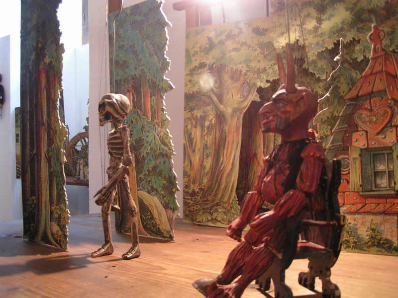 Múzeum bábkových kultúr a hračiek v Modrom Kameňi