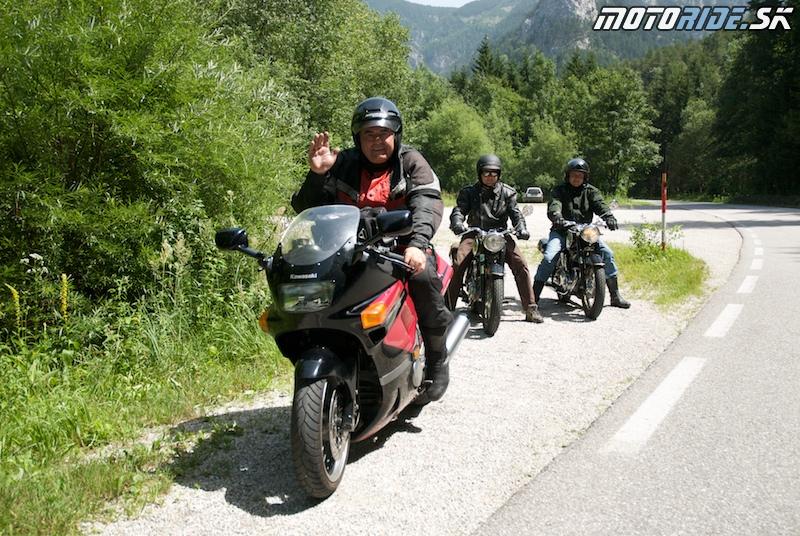 Motoride Tour 2009 - po odstránení závady
