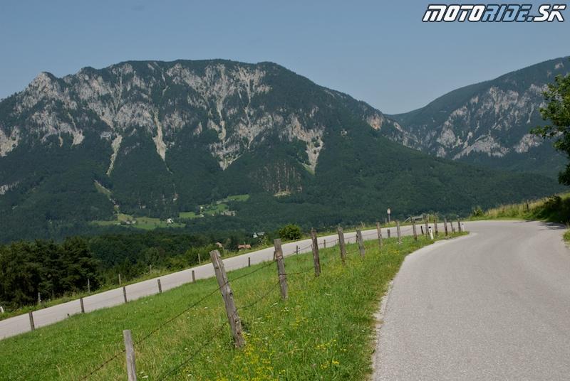Motoride Tour 2009 - trasa