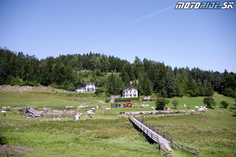 Motoride Tour 2009 - Kalte Kuchl - kúpať sa dá luxusne