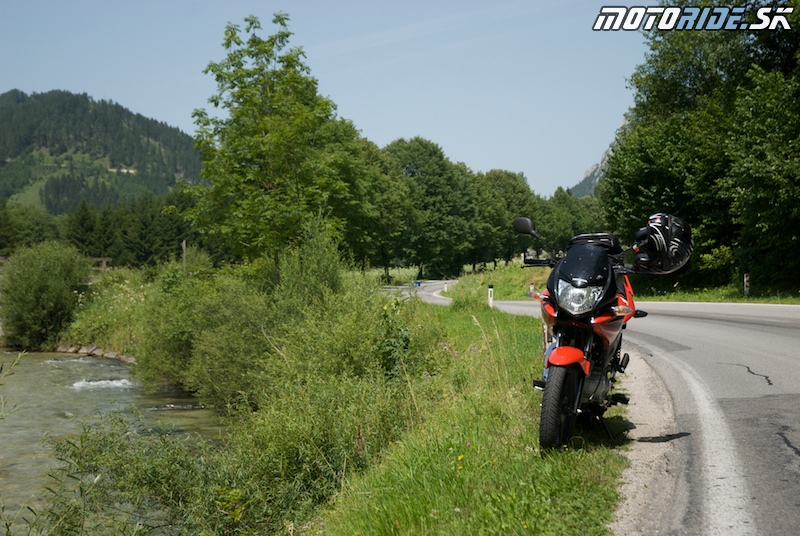 Motoride Tour 2009 - trasa