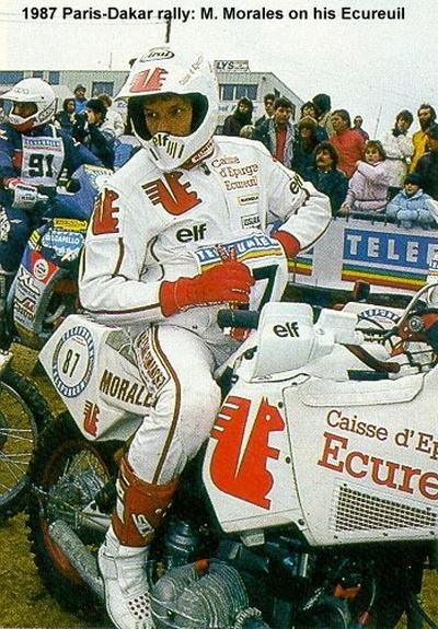 Dakar 1987 - Ecureuil