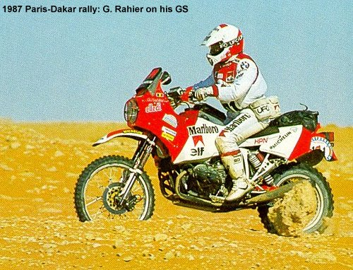 Dakar 1987 - Gaston Rahier a BMW