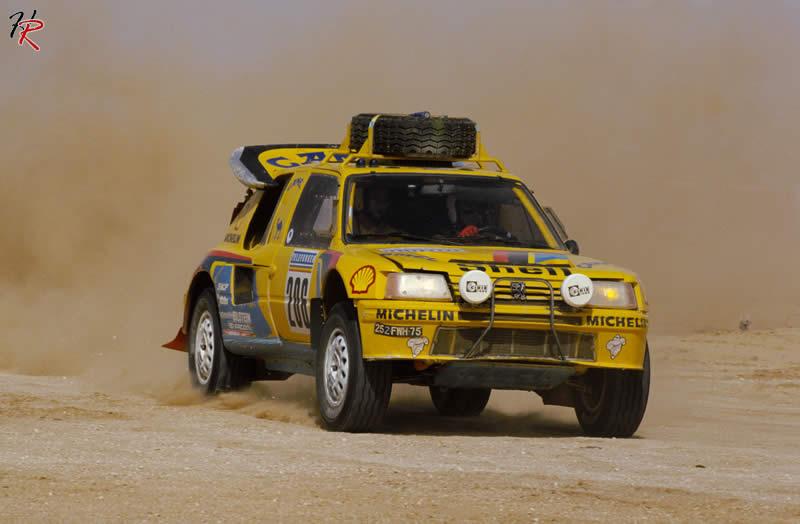 Dakar 1987 - Peugeot 205