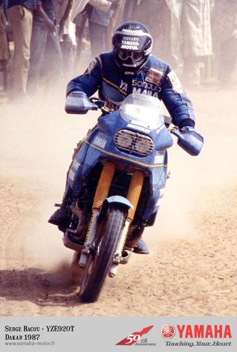 Dakar 1987 - Yamaha