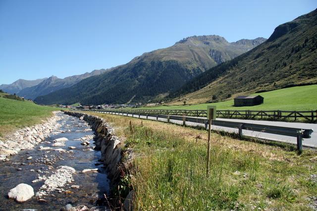 Cesta na sedlo Silvretta (AT)