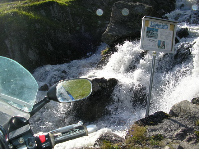 Cesta na sedlo Furka pass