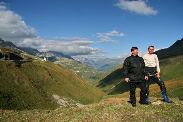Furka pass (2436m)