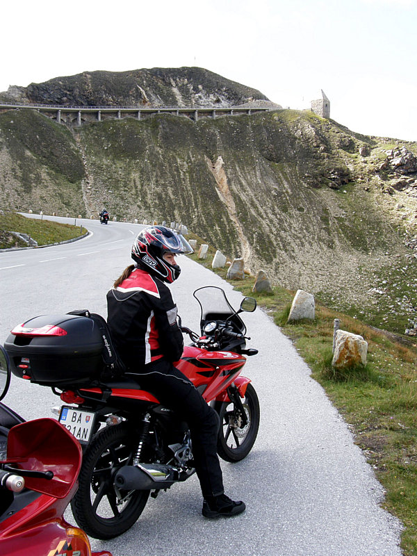 Honda CBF 125 cestou na Korziku