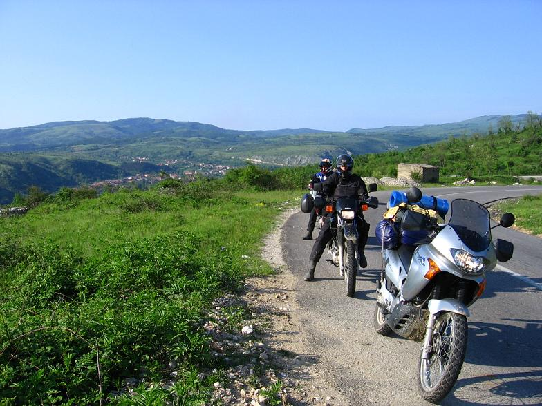 cesta od Racasdie ku Dunaju