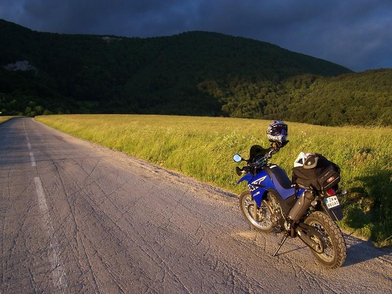 Cesta domov z Duchonka Buldog Rally, zastávka nad Zliechovom smer Čičmany
