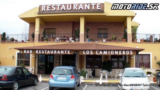Cesta do Španielska - Tour de Maroko 2011