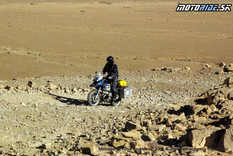 Fero - Col de Belkassem - Tour de Maroko 2011