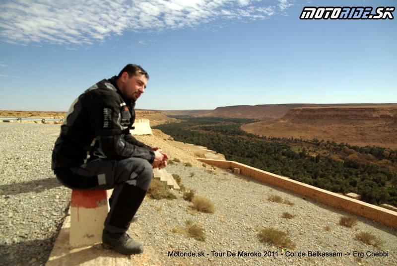 Fero - Col de Belkassem - Erg Chebbi - Tour de Maroko 2011