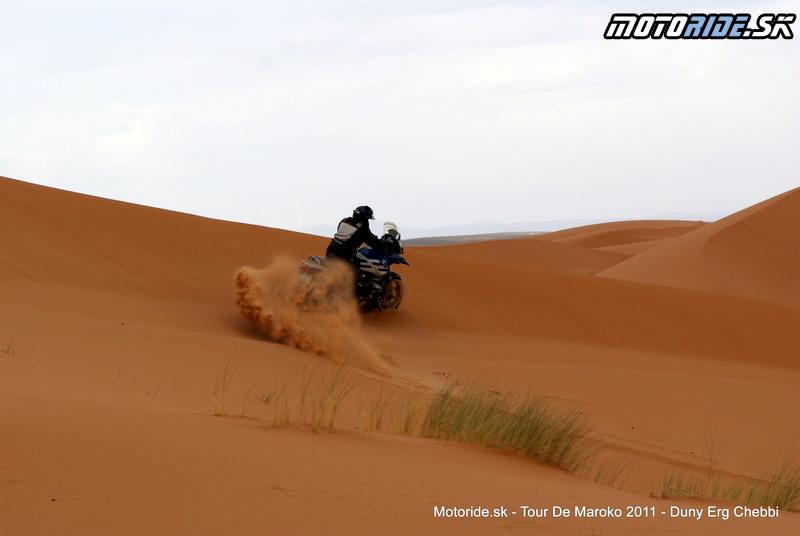 Fero - Erg Chebbi - dunové pole, Maroko - Tour de Maroko 2011