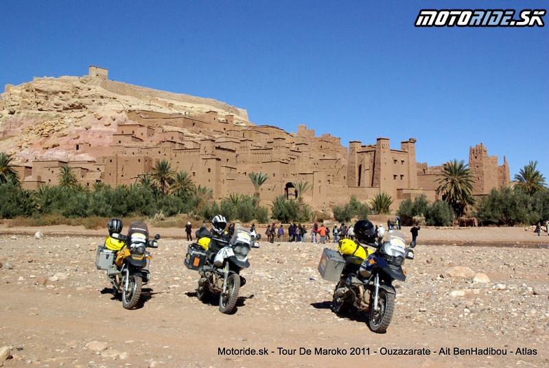 Ksar Ait Benhaddou - Tour de Maroko 2011