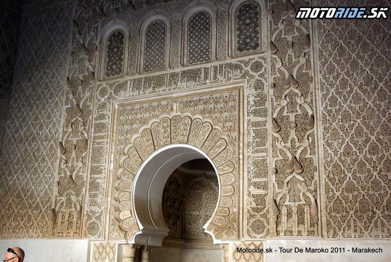 Madrasa Ben Youssefa, Marakéš - Tour de Maroko 2011