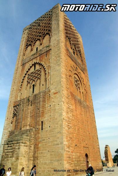 Veža Hassana, Rabat, Maroko - Tour de Maroko 2011