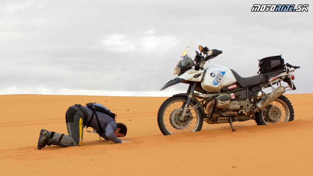 Touratech Companero v Maroku