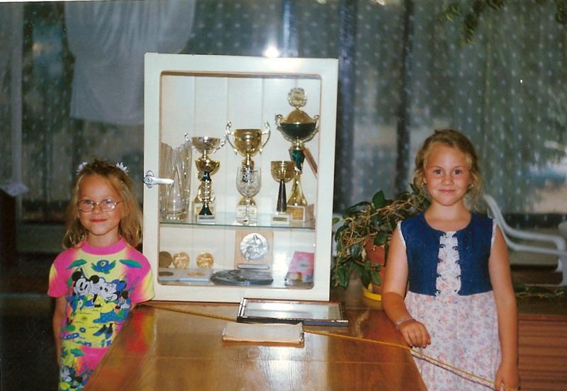 trofeje v klubovni