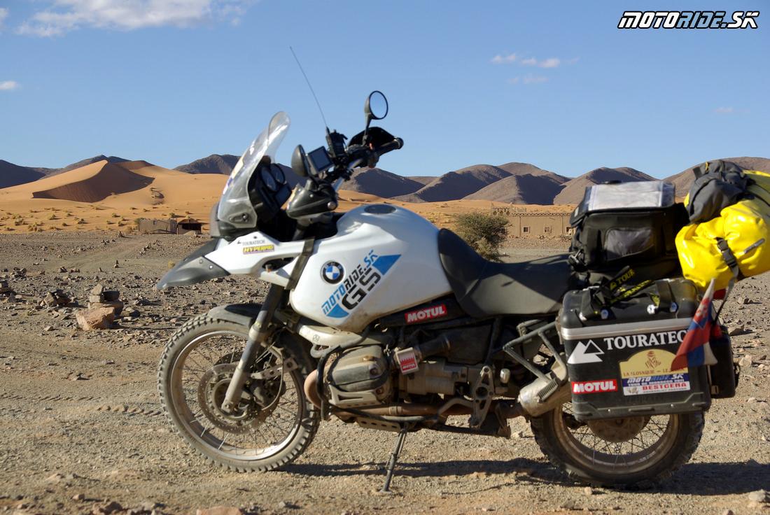 Kufre Touratech Zega Pro - Maroko 2011