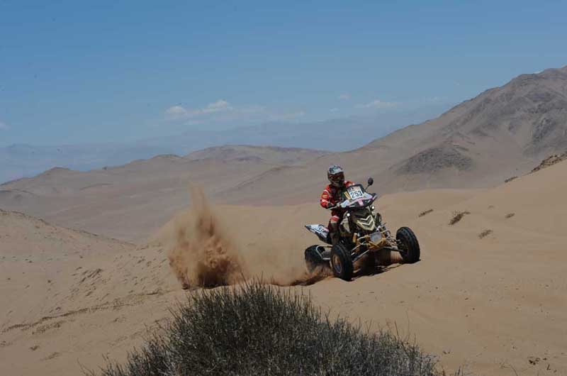 Dakar 2012 - 7.etapa