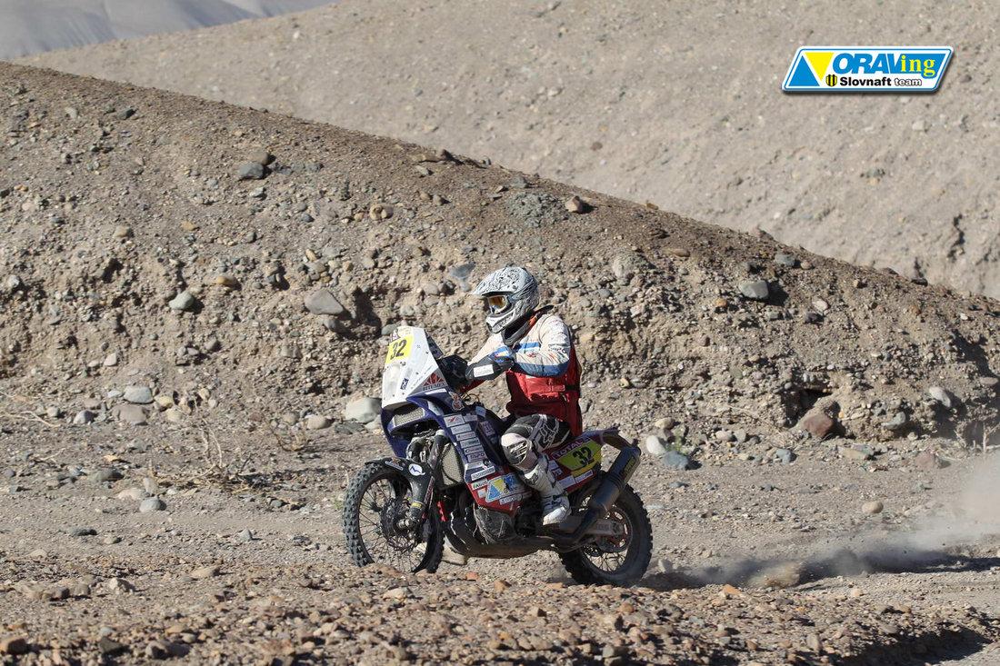 Štefan Svitko Dakar 2012