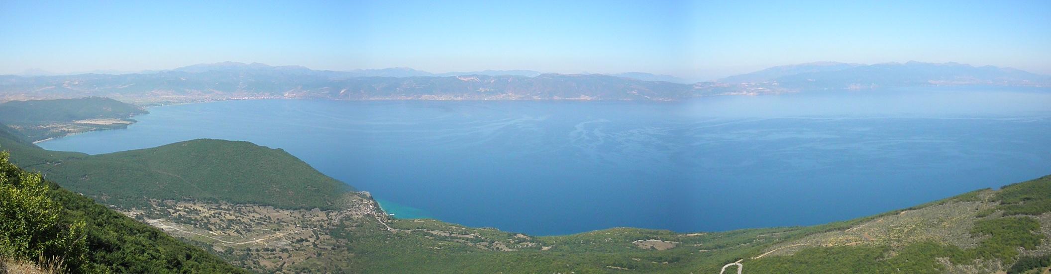 Výhľad z vrchu priesmyku