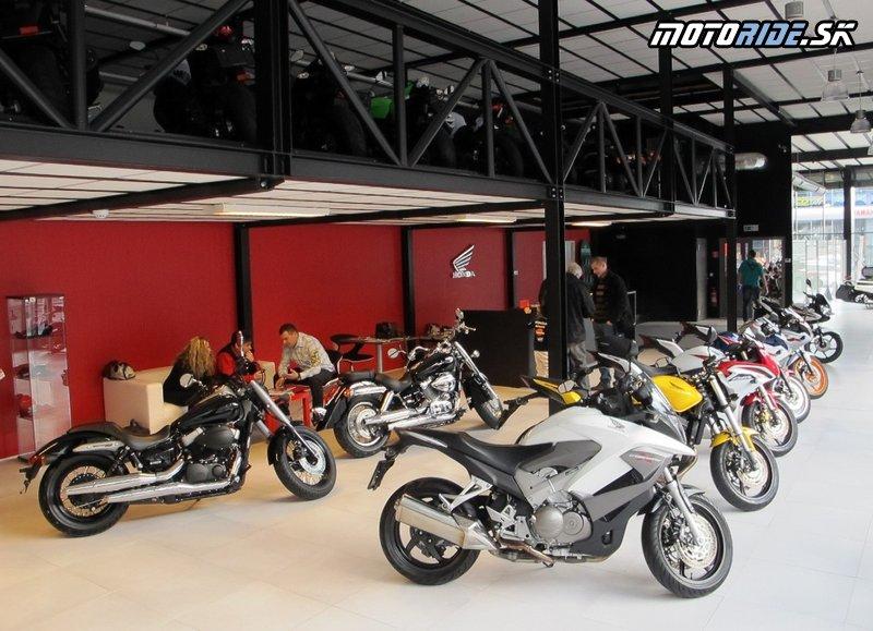 Otvorenie Showroomu HONDA v Motoshope Žubor v Banskej Bystrici