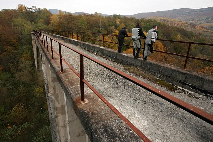 Koprášsky viadukt, Slovensko - Bod záujmu