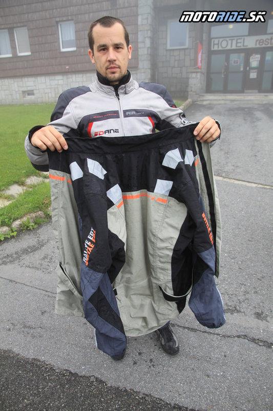 Vzdušné oblečenie Dane Strandby+ oblečenie do dažďa Difi Rain AX