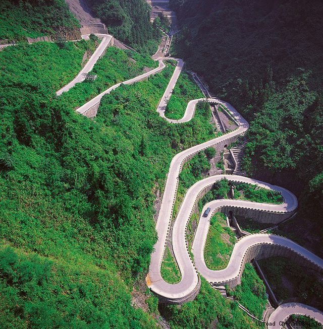 Hora Tianmen a Nebeská brána, Čína - Bod záujmu
