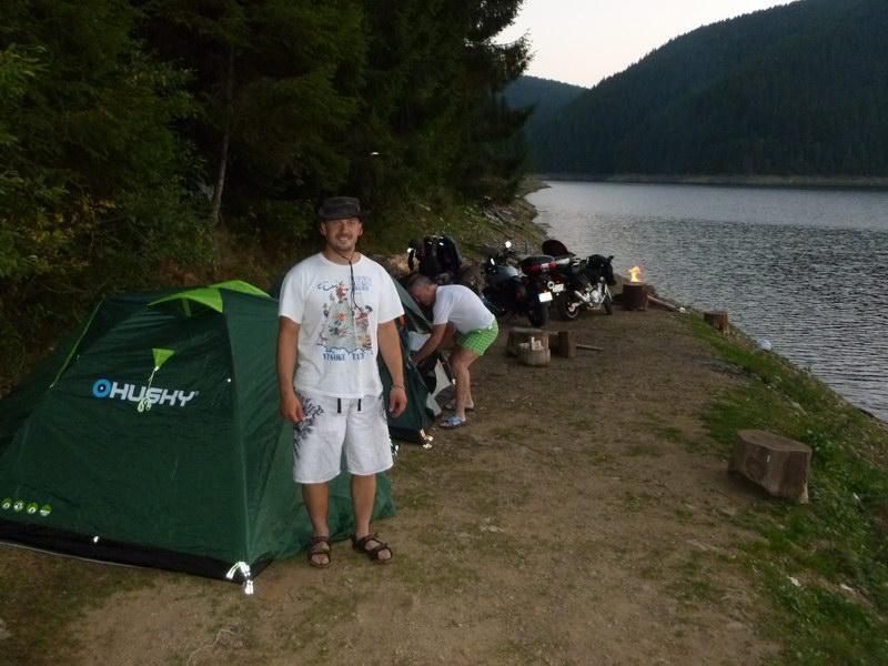 Kemp pri rumunskom jazere - Albac