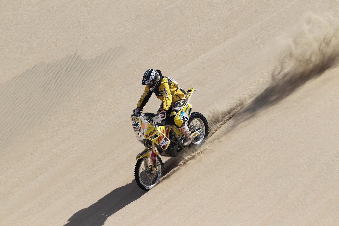 Dakar 2013 - 2. etapa - Ján Zaťko